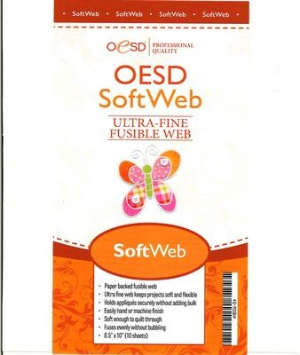OESD SoftWeb Paper Backed Fusible Web