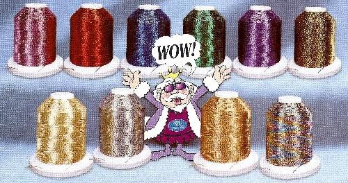 Robison-Anton J Metallic Embroidery Thread
