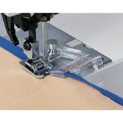 Adjustable Bias Tape Binder Foot for High Speed Straight Stitch Machines