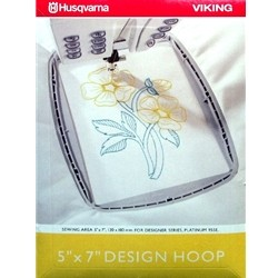 "Husqvarna Viking 5""X7"" Design Embroidery Hoop"