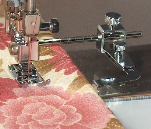 Adjustable Seam Guide for High Speed Straight Stitch Machines
