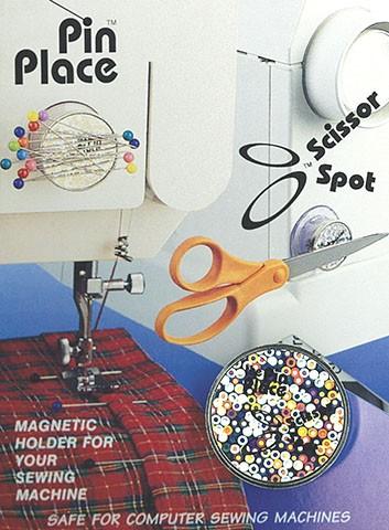 Scissors Spot Magnetic Pin/Notion Holder