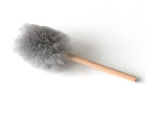 Sewing Machine Mini Sheepskin Duster