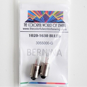 Bernina Light Bulbs 6V/4W for 1000 Series Computer Models