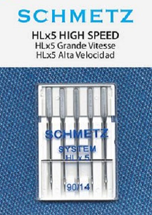 Schmetz HLX5 Needles for High Speed Machines