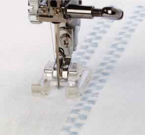 "Janome Open Toe Satin Stitch Presser Foot ""F2"""
