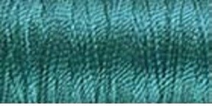 YLI Pearl Crown Rayon Peacock Blue 378