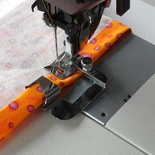 Wide Rolled Hemmer Presser Foot Set for High Speed Straight Stitch Machines