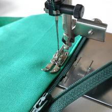 Adjustable Zipper Foot for High Speed Straight Stitch Machines