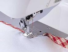 Bias Binder Foot for High Speed Straight Stitch Machines