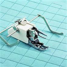 Walking Foot with Edge Guides for High Speed Straight Stitch Machines
