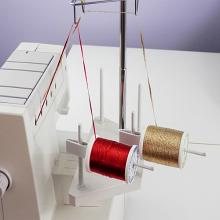 Serger Horizontal Thread Holders