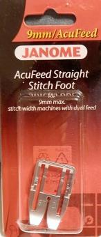 Janome, Elna Straight Stitch Presser Foot for 9mm AcuFeed Models