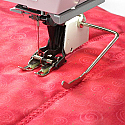 Bernina #50 Three Sole Walking Foot with Seam Guide